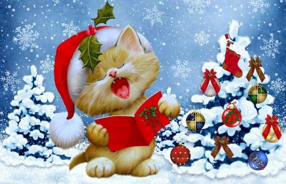Частушки новогодние 2   Пляшут зайки на лужайке, В хороводе весь народ… Нынче трезвого не встретишь, Что ж поделать, Новый Г...