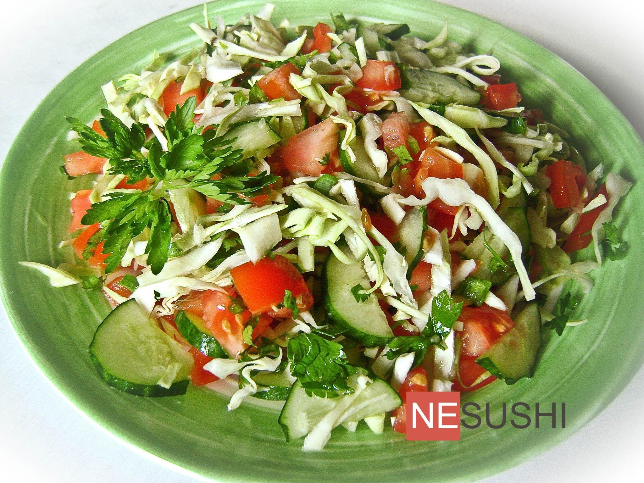 Как сделать салаты по домашнему