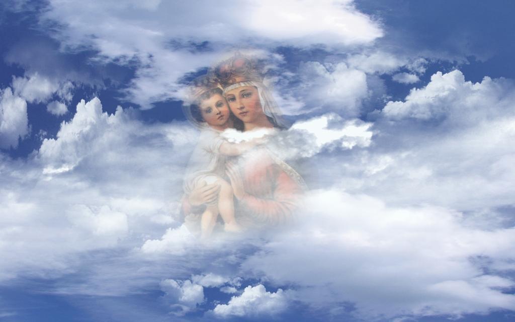 Ангелы в небе  № 2270149 бесплатно