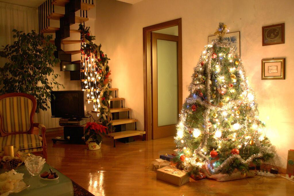 Картинка елка дома