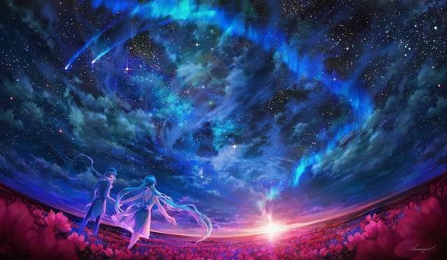 Комета нашей вечности.