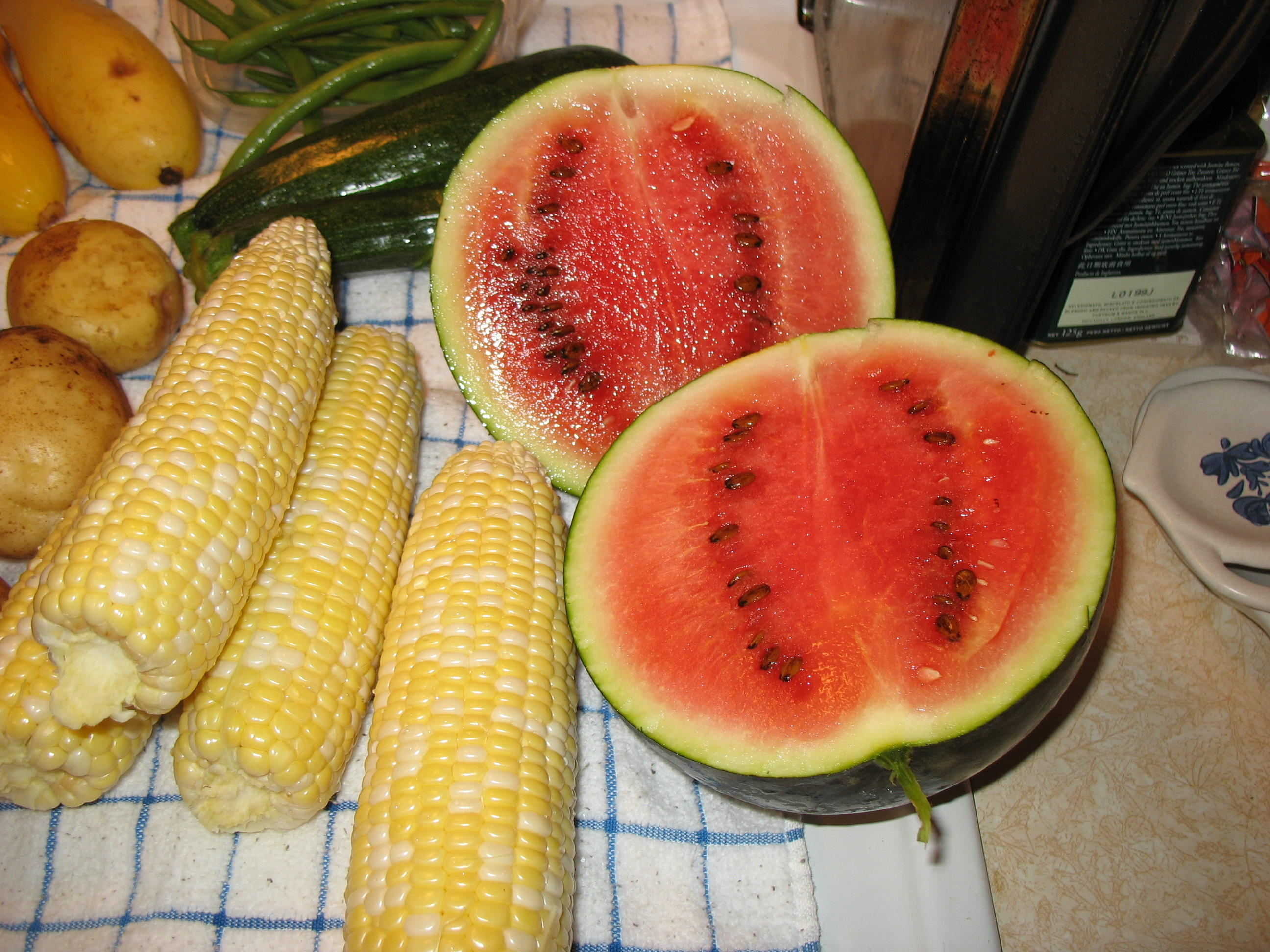 Диета на арбузе и кукурузе