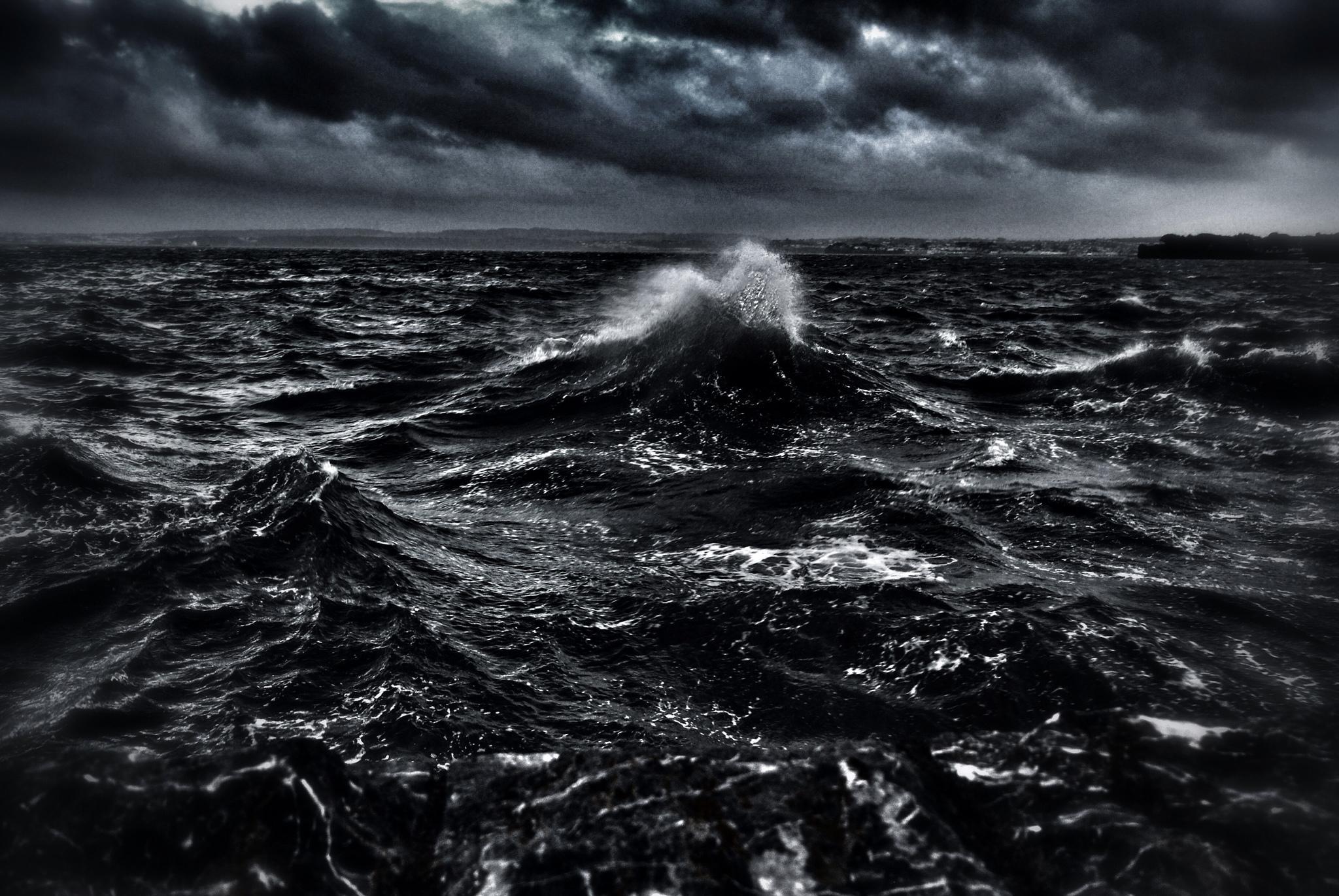 черный океан фото это удивительно