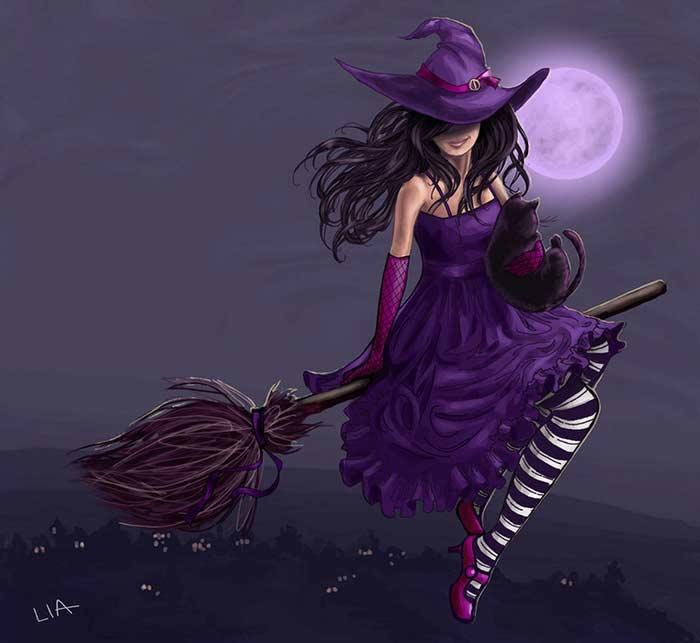 Поздравления с днем рождения ты ведьма
