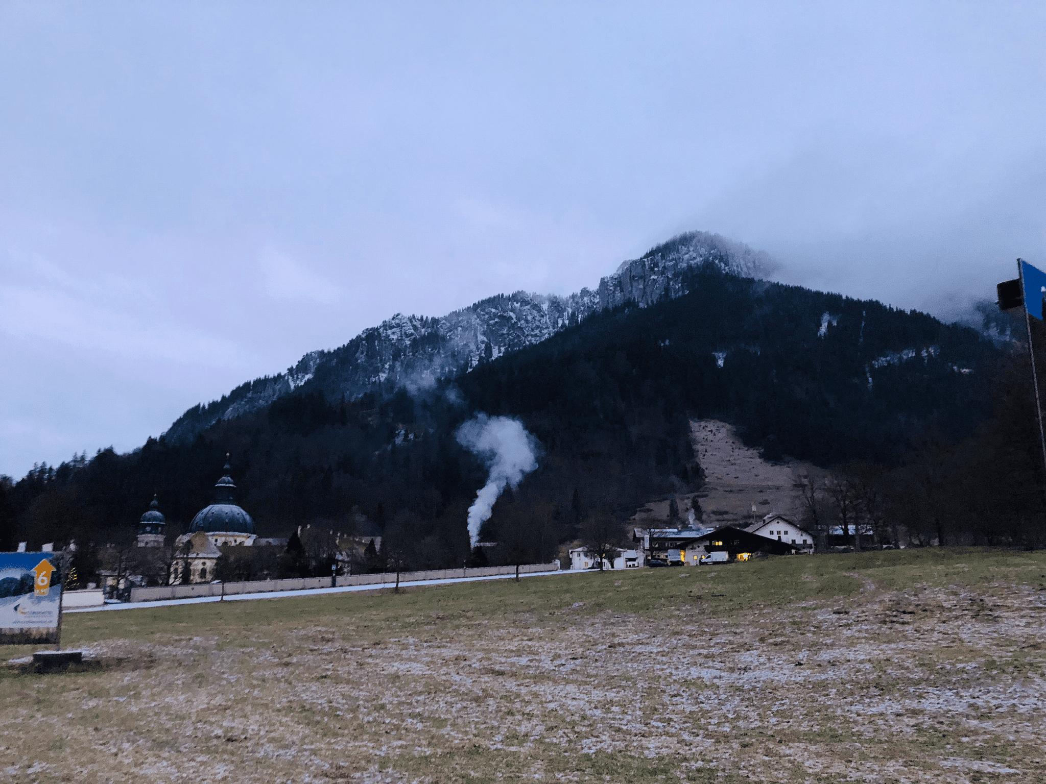 «Деревня в Баварских Альпах«