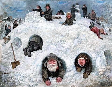 Зима седая