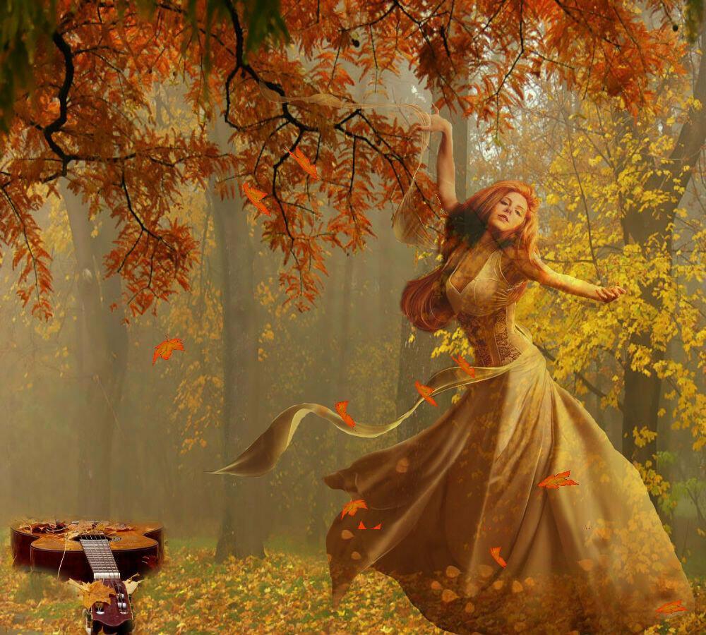 Заворожила осень золотая