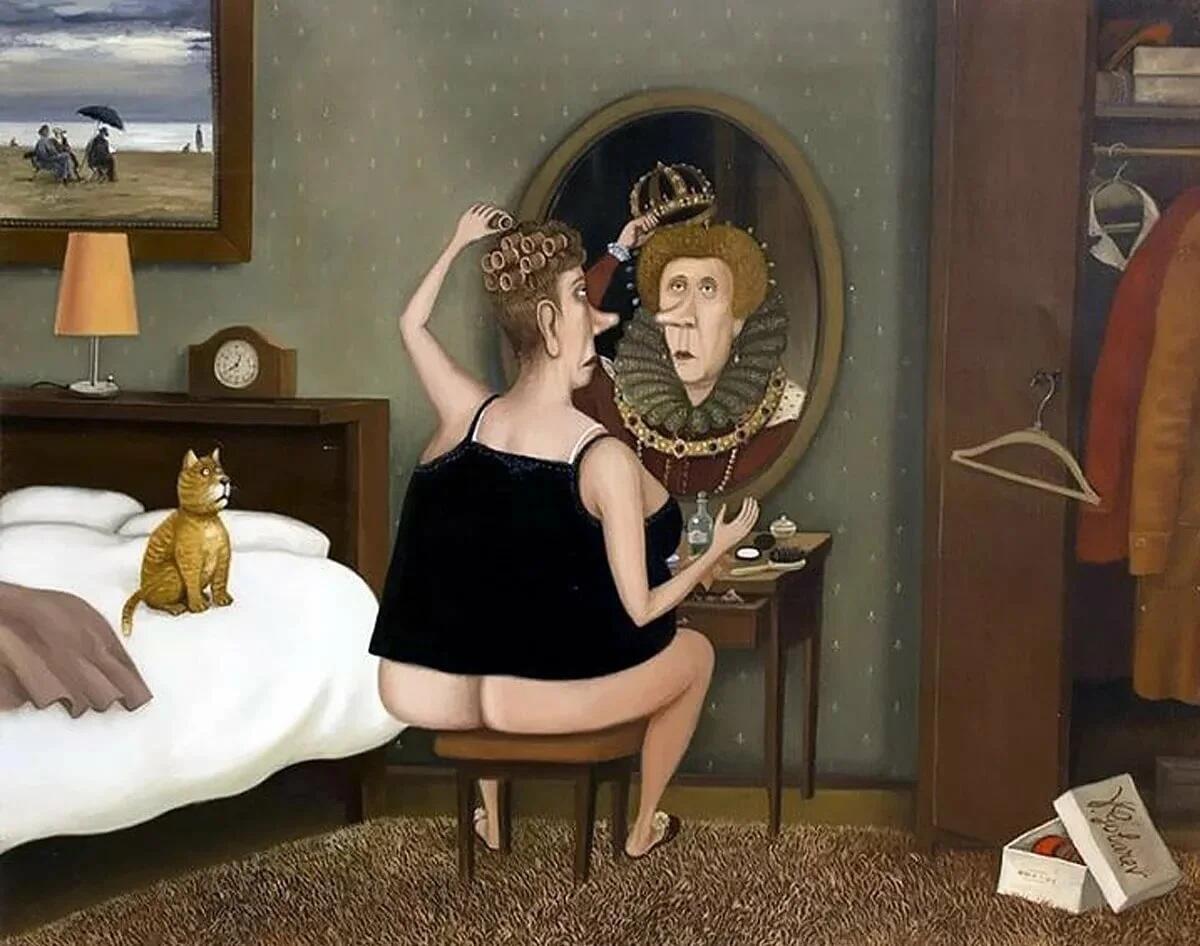 Сына открытка, смешные картинки про женщин утром