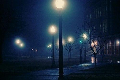 Ночью, меж двух миров...