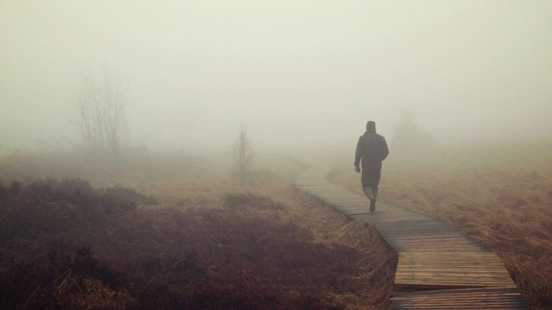 Прогулка в тумане  (миниатюра в прозе, 100 слов)