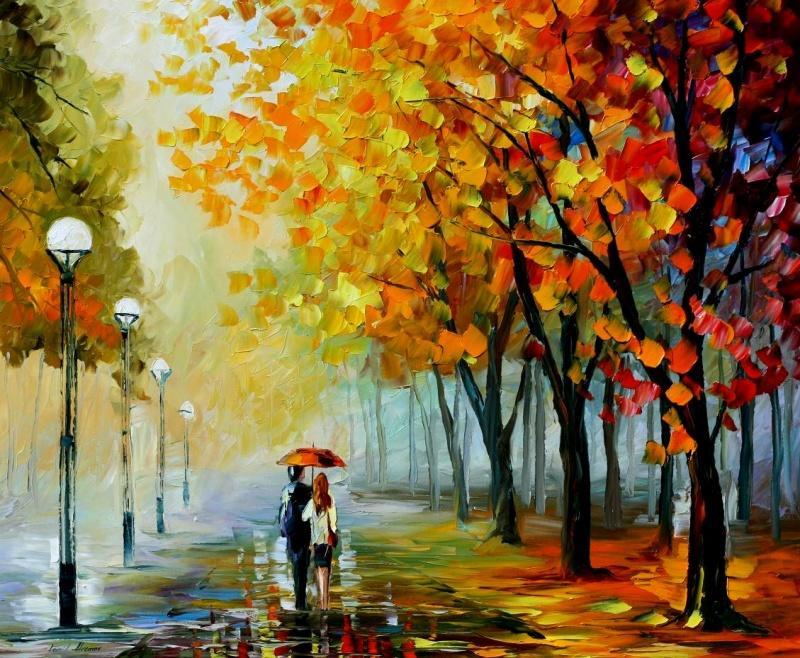 нарисуйте мне осень...