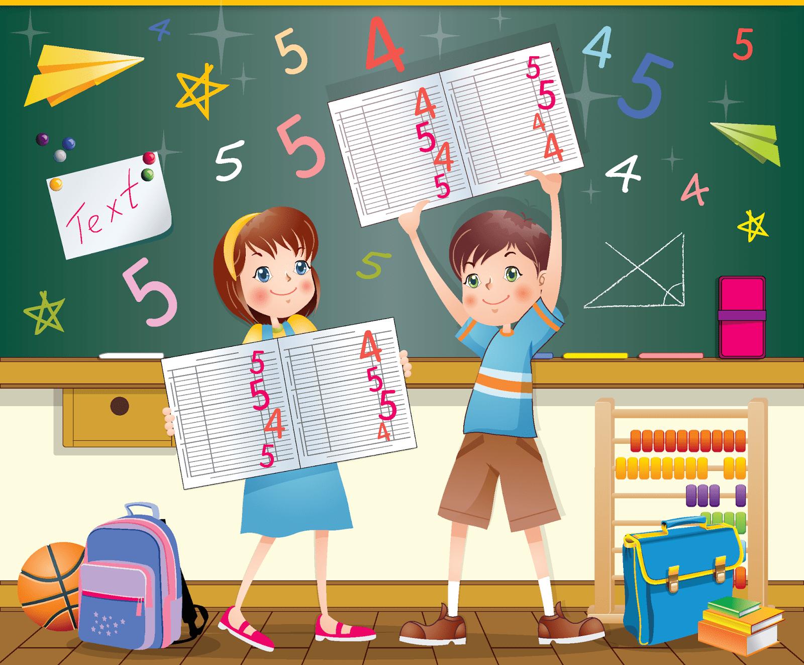 Картинки начальная школа анимация