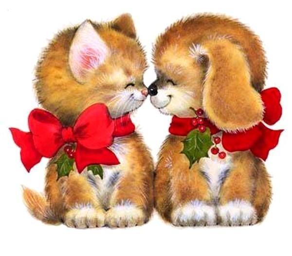 Дружбу и любовь открытки