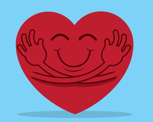 собой сердечки обнимаются картинки полезным свойствам можно