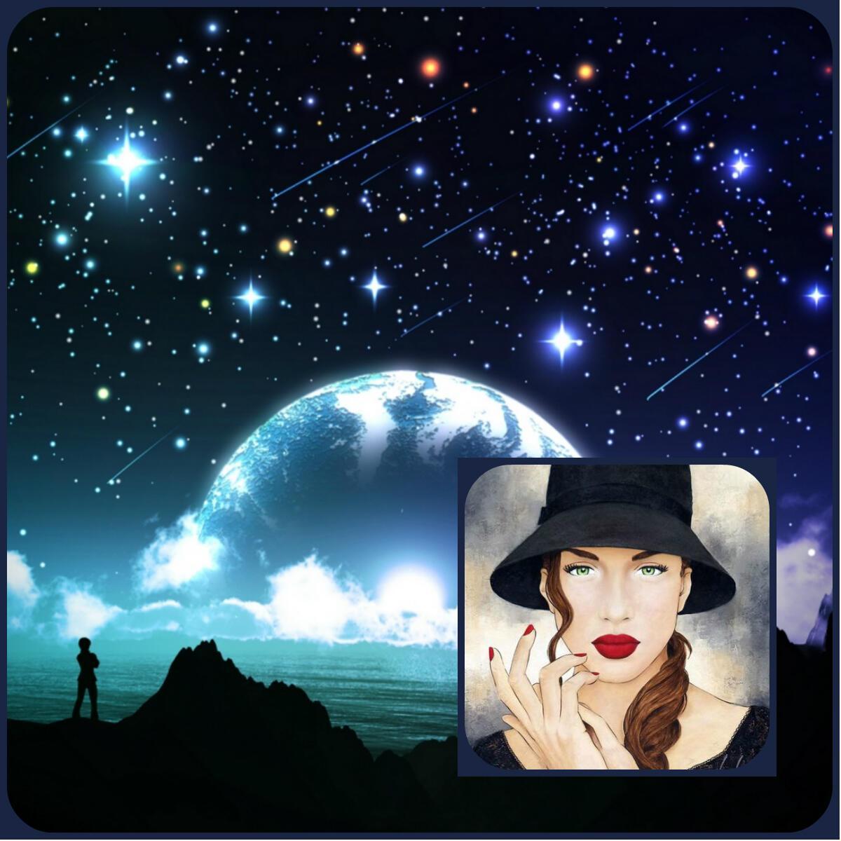 Звёзды в небе ночном... (В унисон Александру Фокс )