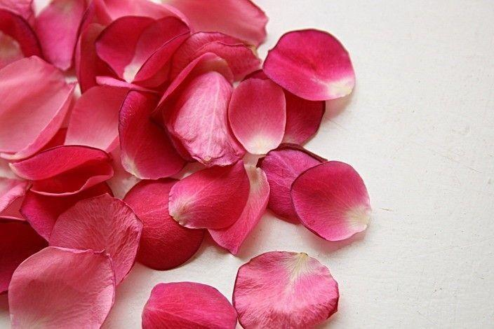 ...чашка чая с лепестками розы...