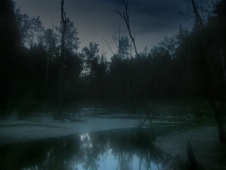 надо солнечные картинки мрачные речек в ночи рисунки могут получиться