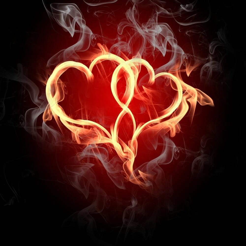 Огнём наполнены сердца