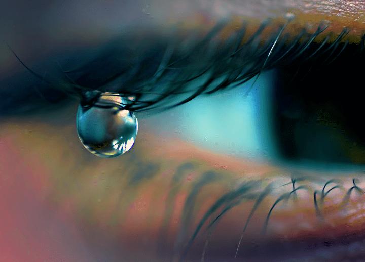 слезы на ресницах фото или картинка опалубки