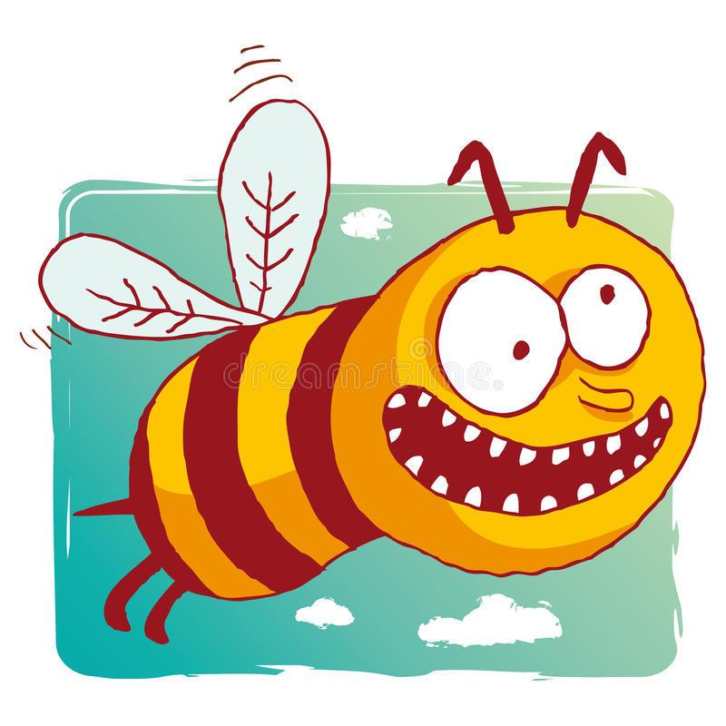 Рисунки смешные пчел
