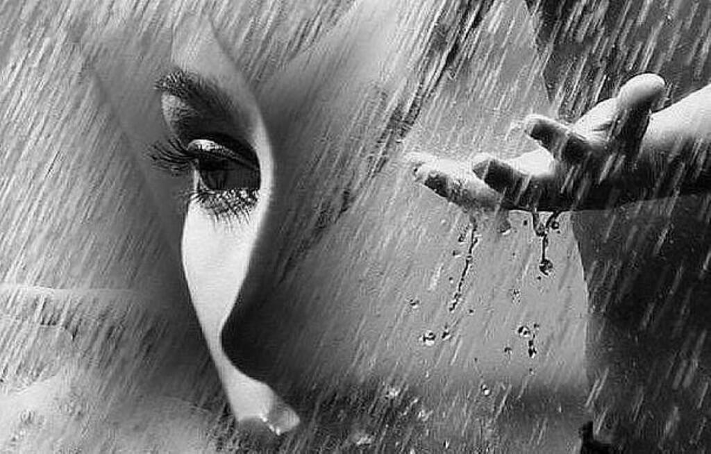 Открытки когда плачешь