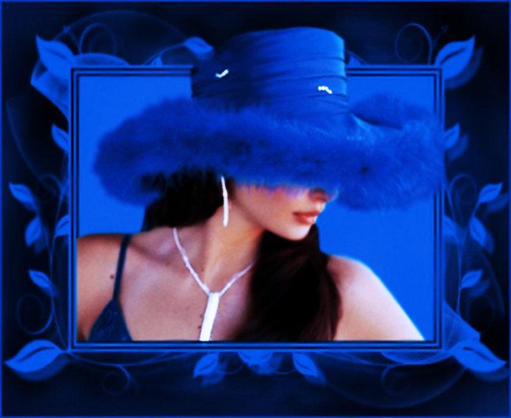 Фото женщины в шляпе на аву в