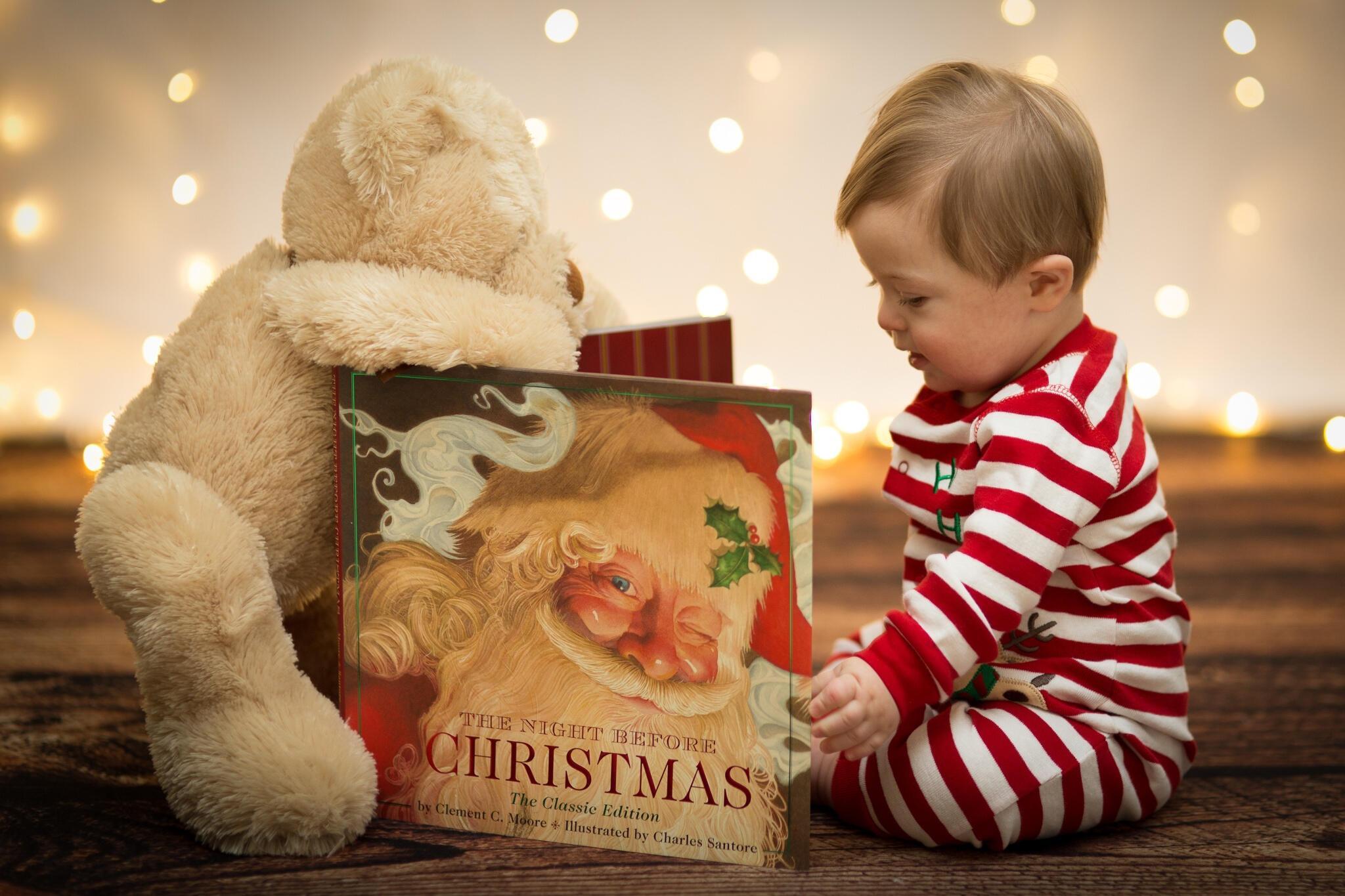 Мишка Фредди и Дед Мороз.