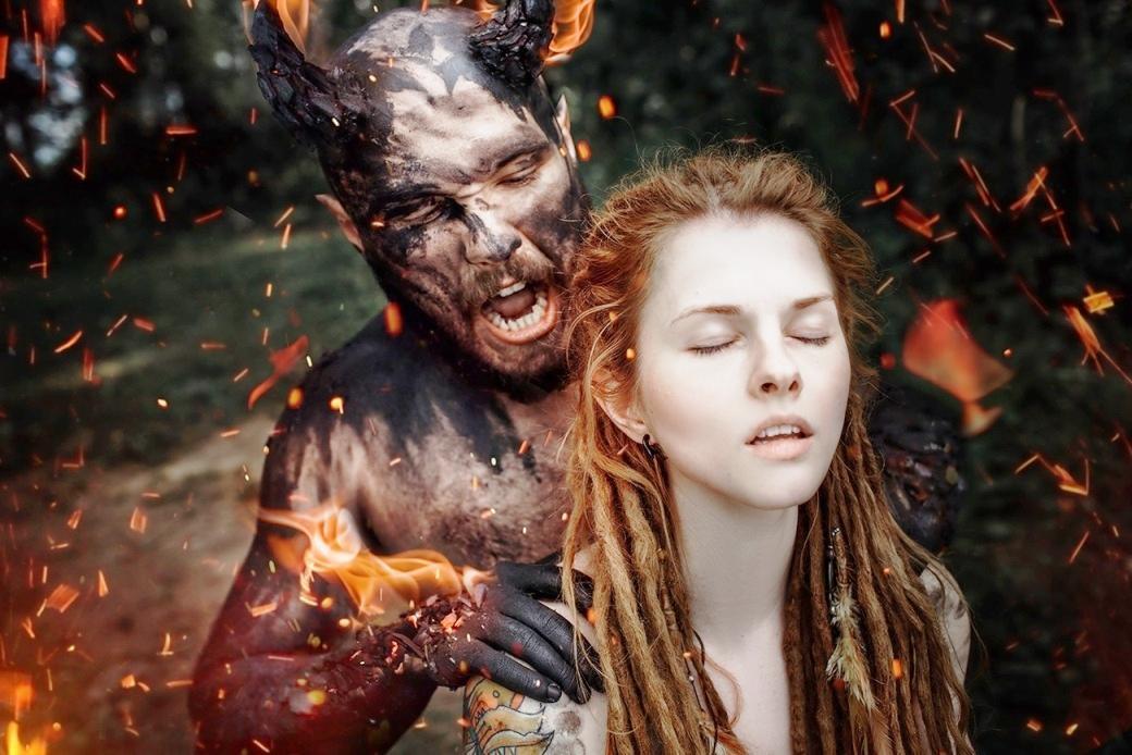Игра в ассоциации.  Демон и Ангел