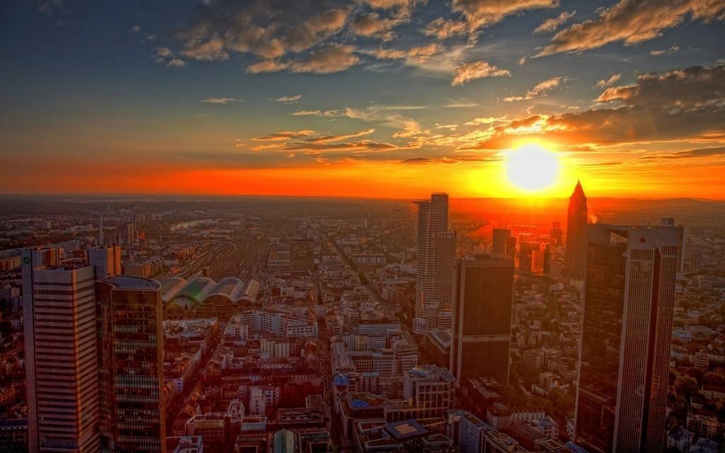 картинки с видом заката виды города на закате путана