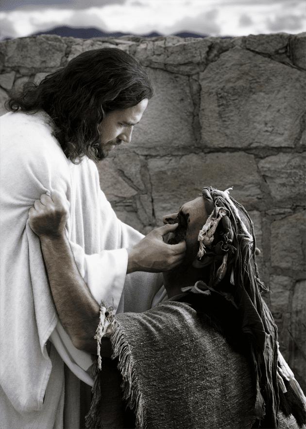 ХРИСТОС И СЛЕПЕЦ