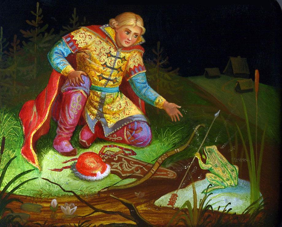 Лягушка царевна картинки к сказке, открытки вечером днем