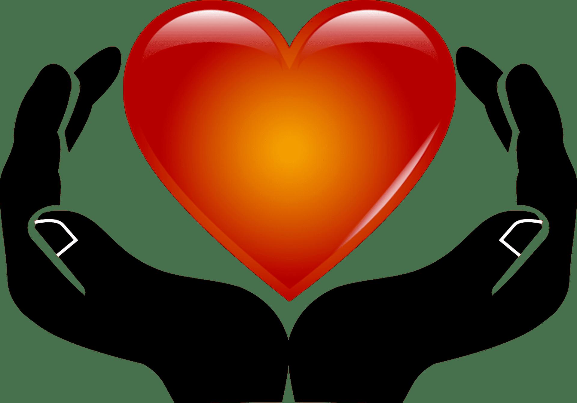 Картинки рук с сердцем