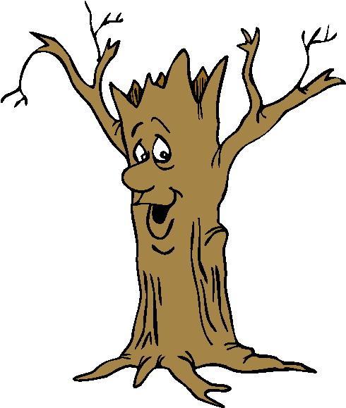 Смешное дерево рисунки