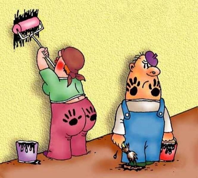 Картинки с ремонтом прикольные, девочке