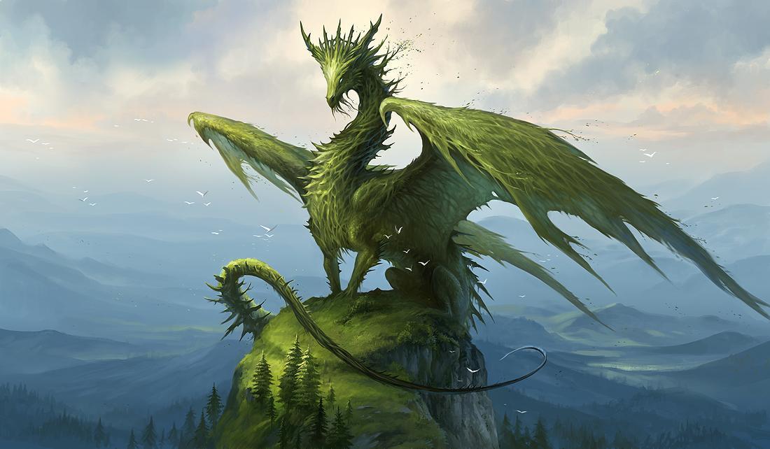 Мой Зелёный Дракон!