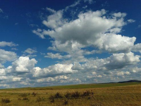 Люблю я облака