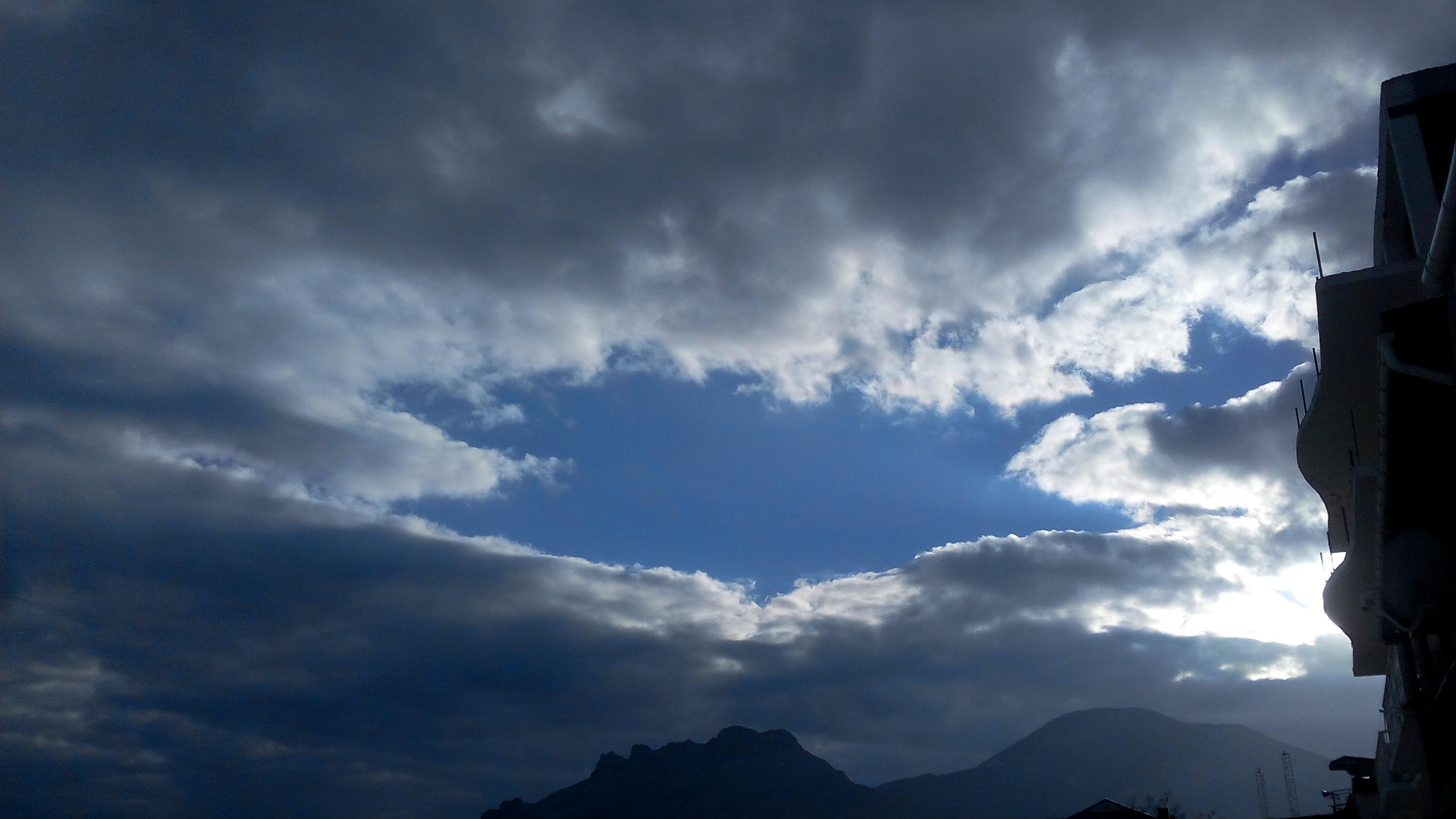 грустное небо фото некоторых