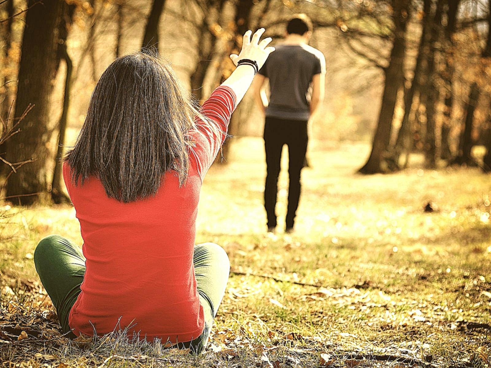 Мальчик бросил девушку фото