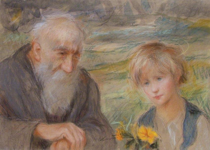 Картинка мудрость старости