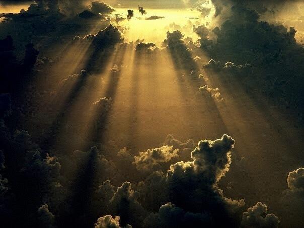 А небо...