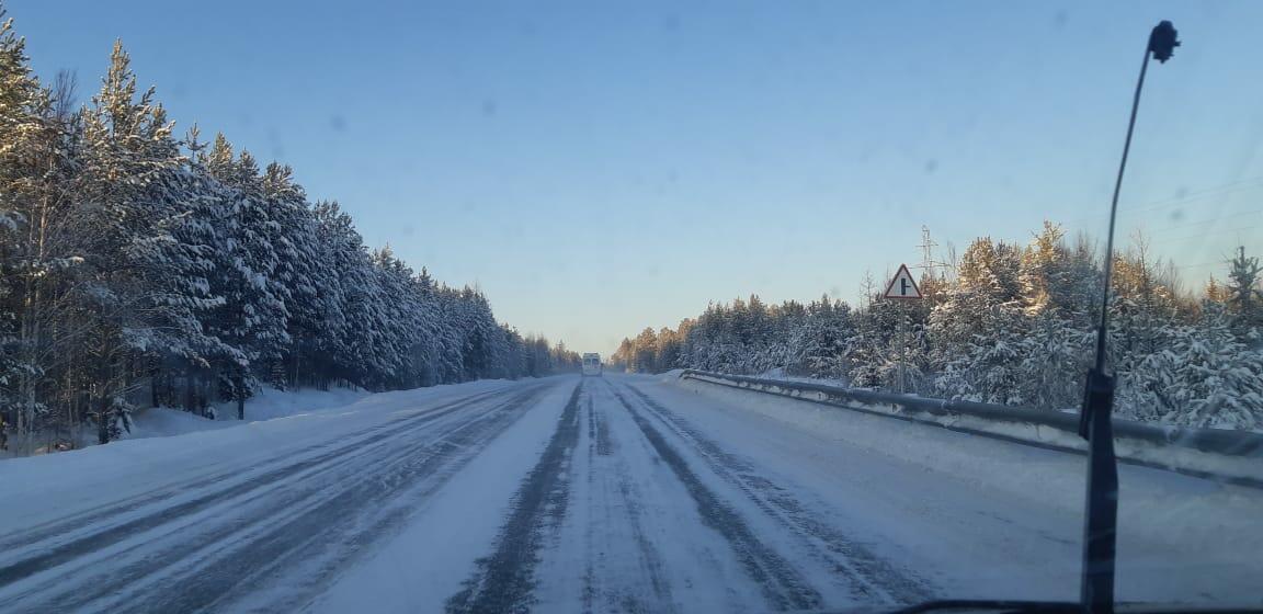 Дороги Сибири.