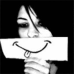 Я возьму невидимую кисть,  Я возьму невидимые краски,  Нарисую на своем лице   Без души улыбку, чтобы люди  Впредь вопросом и...