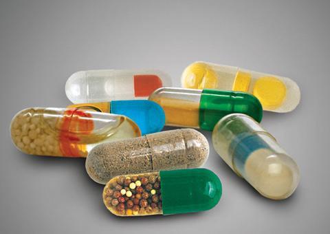 Я пью лекарство