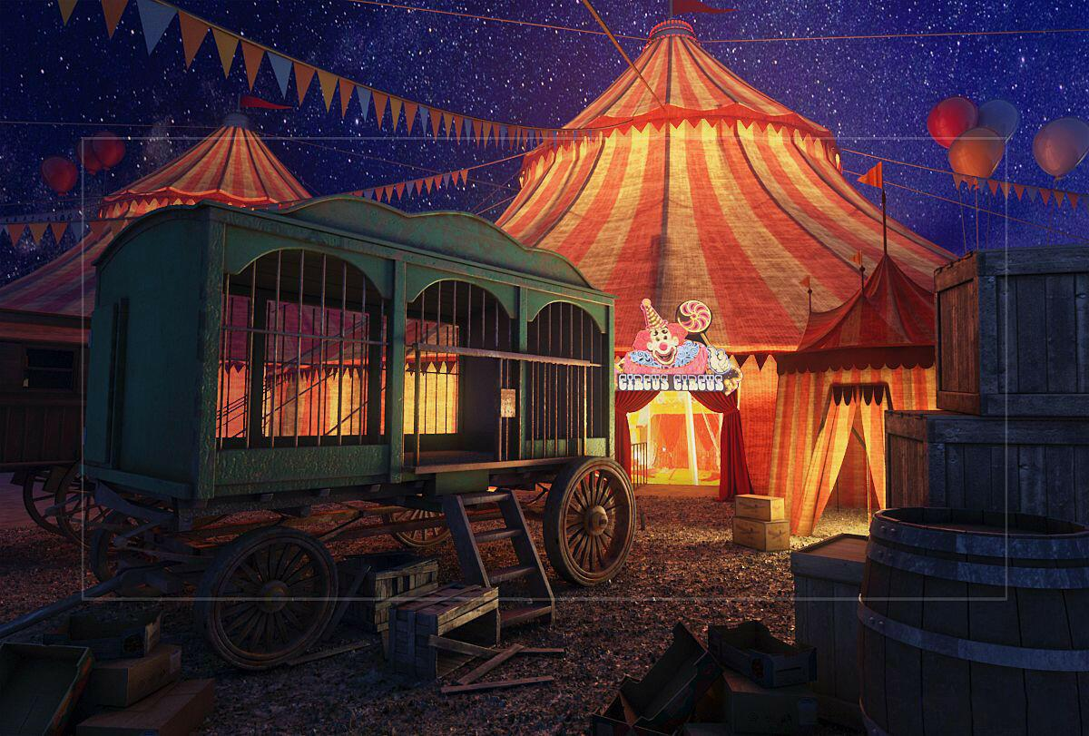 Цирк картинки шатер