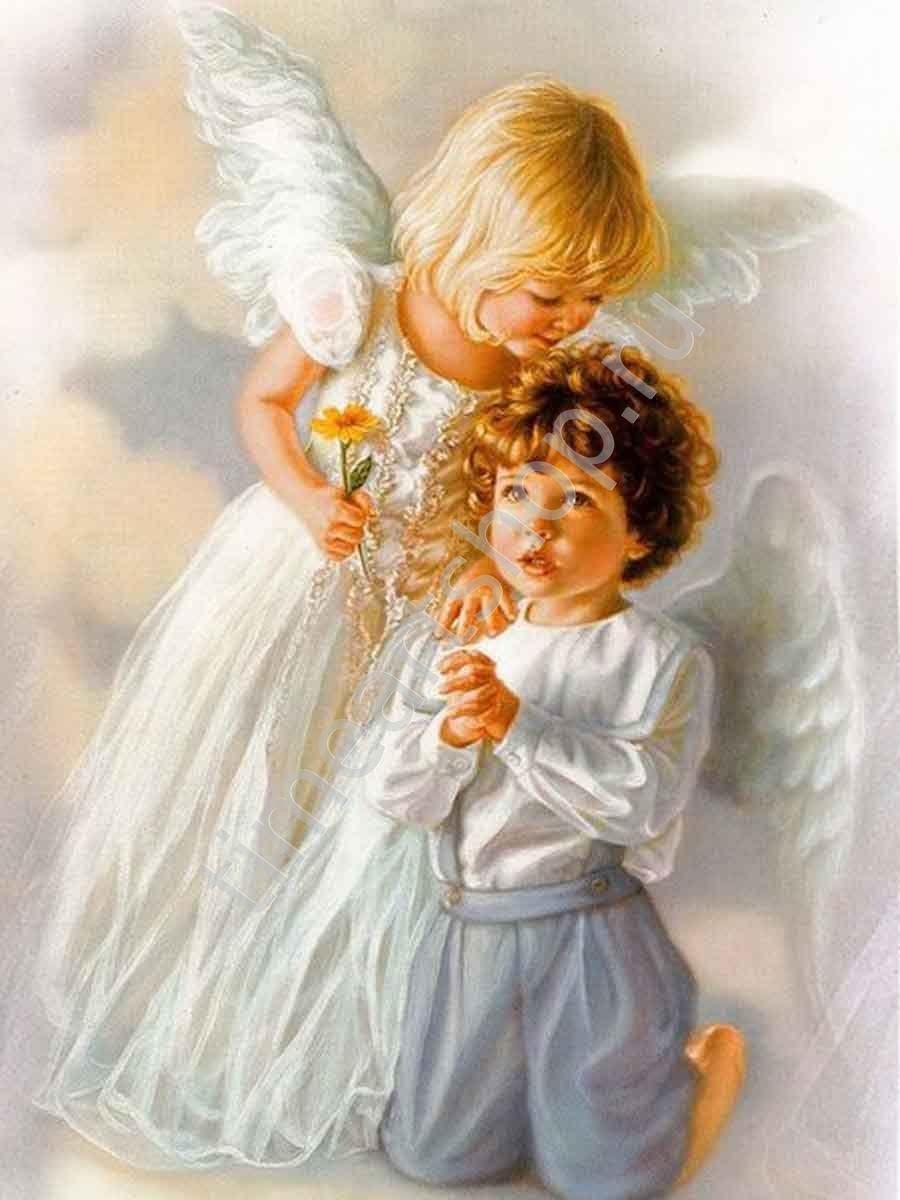 Открытка новому, картинки с ангелами для детей