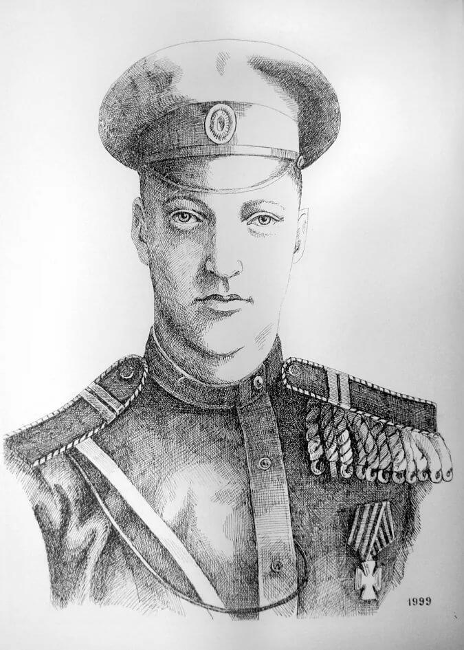 Поэт и воин Гумилёв