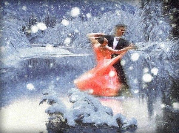 Розовый снег. Романс