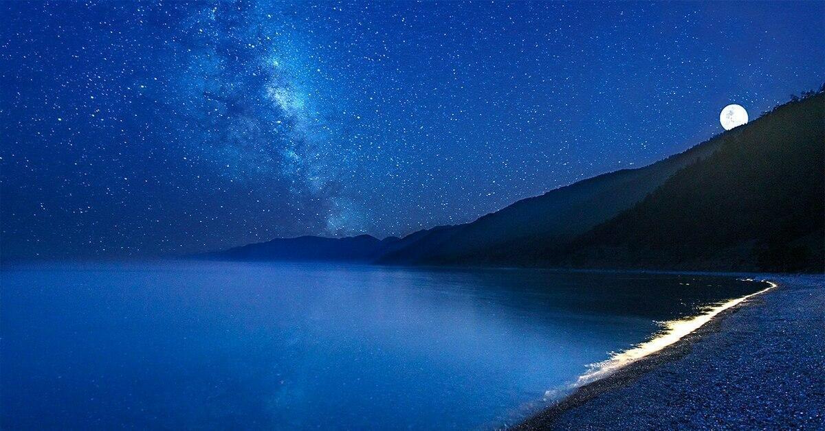 Фантастическая ночь на Байкале