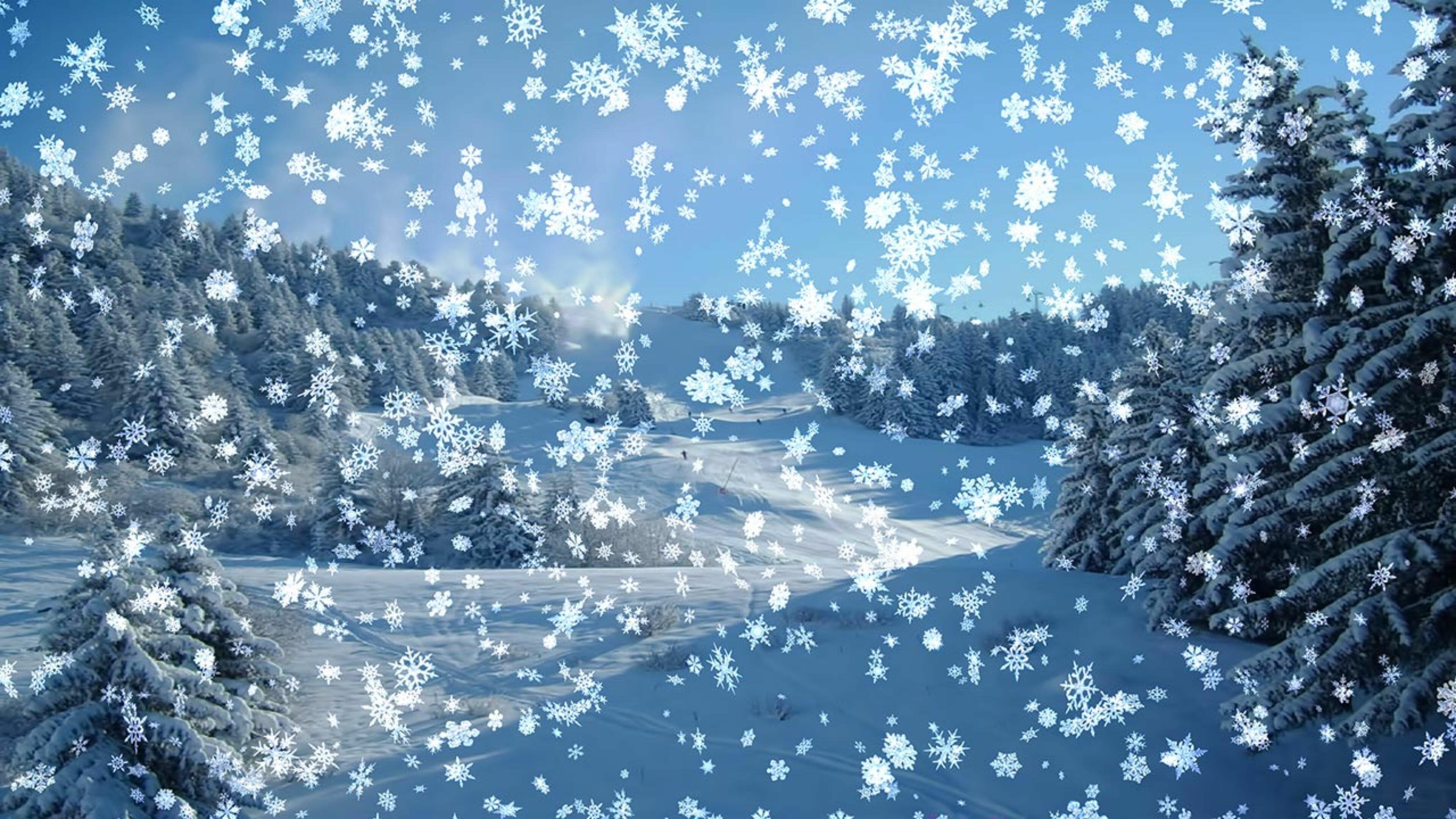 Заставки На Телефон Живые Обои Зима