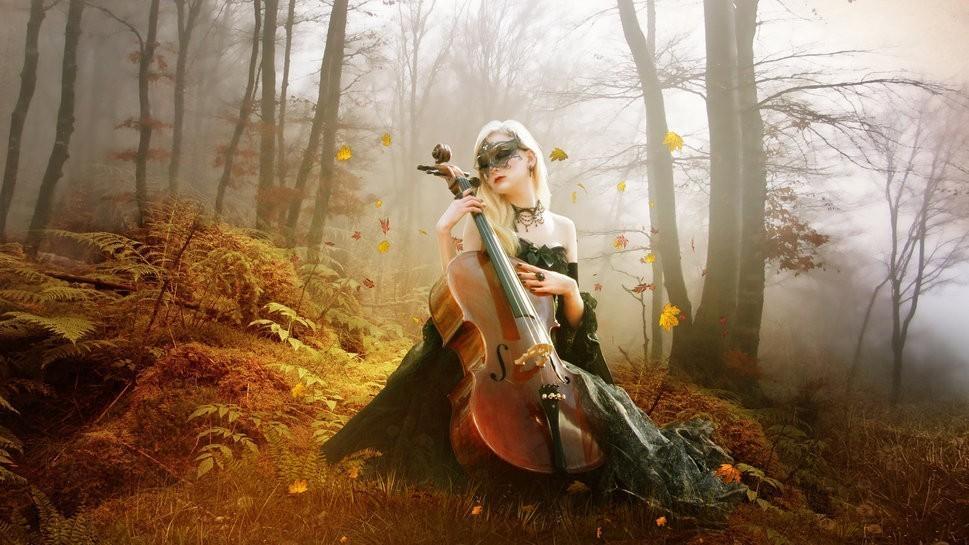 Дубовый лист виолончельный.